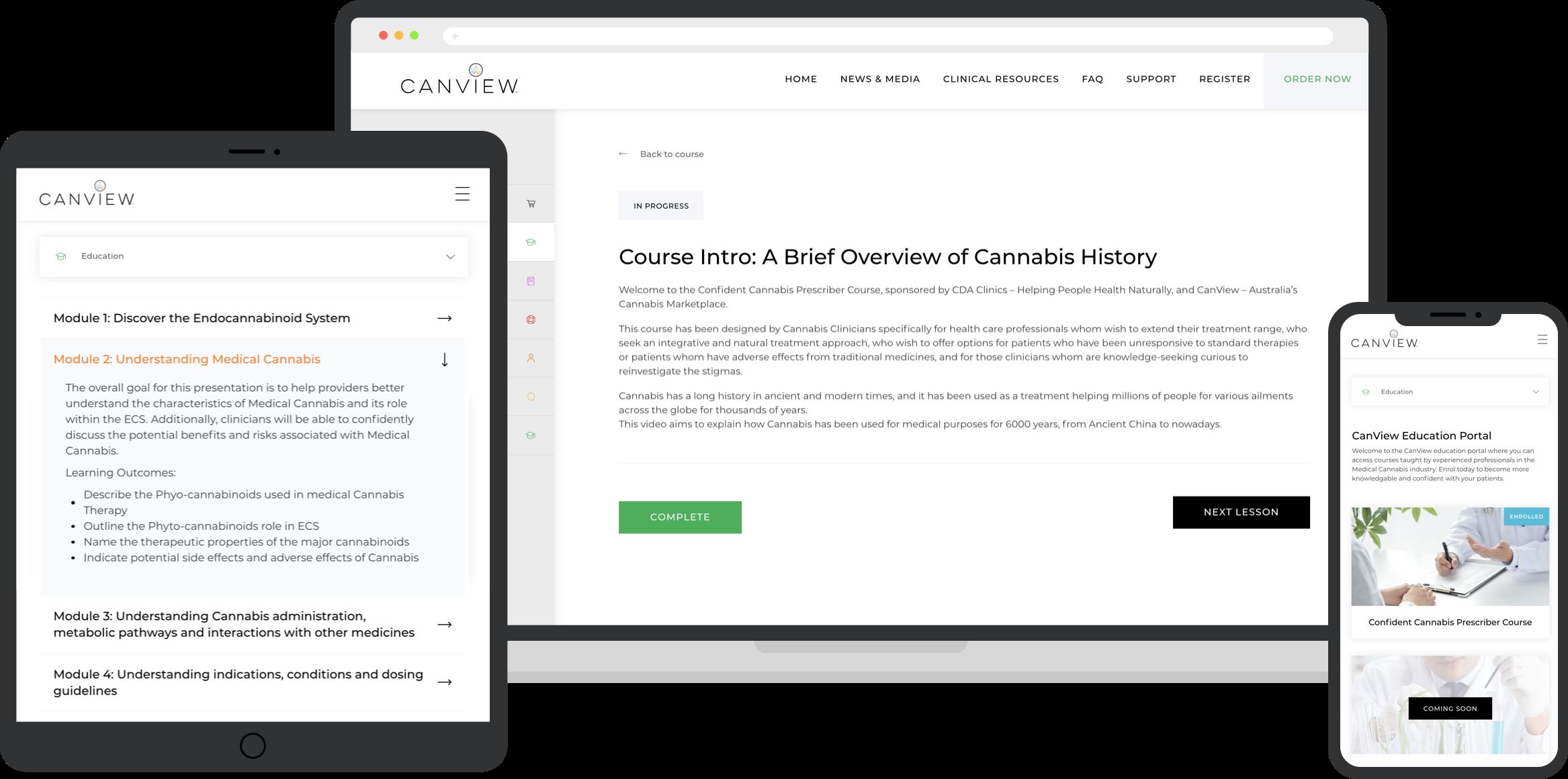 CanView Confident Prescriber Course